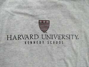 Champion HARVARD UNIVERSITY VE RI TAS Kennedy School (XL) T-Shirt CRIMSON
