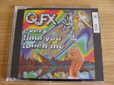 CD Single: QFX : Every Time You Touch Me : The Remixes Numbered Ltd Ed Gold Disc