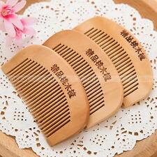 2PCS x Handmade Sandalwood Anti-Static Pocket Comb Beard And Mustache Hair Brush