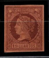 P126915/ SPAIN – Y&T # 50 MINT MH CERTIFICATE – CV 3550 $