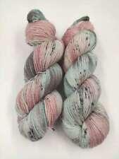 Handgefärbte MERINO GLITZI  Sockenwolle 4 fach 100 g -  VINTAGE   4087