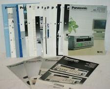 Panasonic Video Systems, Digital Signal Processing, Camera/Recorder  Katalog