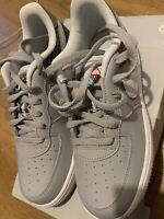 Nike Force 1 NOW (pS)  Girls  Boys Trainers Grey AV0759 001 U.K. 2.5 EU35