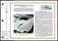 FRANCE CEF 1972 FAUNA FISCHE LACHS SAUMON SALMON FISH zf11