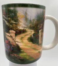 Gorgeous Thomas Kinkade Amcal Spring Gate Coffee Tea Mug Cup