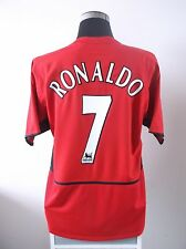 Cristiano Ronaldo #7 Manchester United Hogar Camiseta De Fútbol Jersey 2003/04 (L)