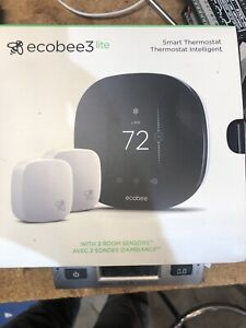 ecobee3 lite With 2 Room Sensors