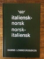 Italiensk-norsk Norsk-italiensk - Dizionario tascabile italiano norvegese