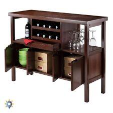 Mini Bar Liquor Scotch Display Furniture Home Storage Cabinet Rack Buffet Table