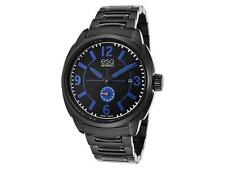 ESQ by Movado 07301448 Excel Black Dial Ion-plated Stainless Steel Watch $495