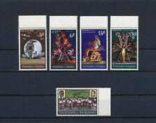 Trinidad  176-80 MNH, Carnival, 1970