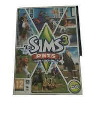 The Sims 3 Pets Expansion Pack PC DVD Rom / MAC Vgc
