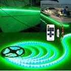 Green Led Boat Light Deck Waterproof Bow Trailer Pontoon Lights Strip Marine 5m