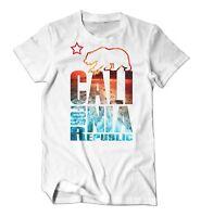 Proud By JCM - Cali For Nia California Bear Republic Men's Tee Beach T-Shirt