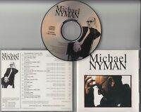 MICHAEL NYMAN Michael Nyman 1995 UK 19-track promo only publishing CD