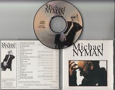 MICHAEL NYMAN Michael Nyman 1995 UK 19-track promo only publishing CD