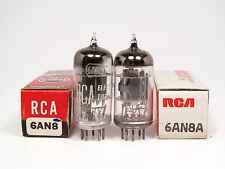 1 x NOS 6AN8A-6AN8 A-RCA USA-OWN BOX