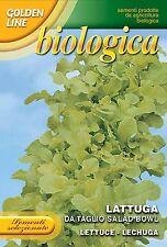 Franchi Seeds Lettuce Lattuga Da Taglio Salad Bowl Organic Seeds