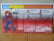 Zombicide-Mike-Carattere Pannello Di Controllo Card (solo scheda)