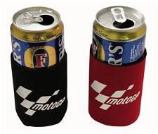 MotoGP Moto Refrigerador de cerveza/puede 2 Pieza Pack, Negro Y Rojo