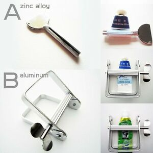 Metal Tooth Paste Oil Paint Hair Color Dye Cosmetics Tube Wringer Squeeze Roller