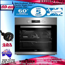 Beko Big Capacity 5 Function Electric Builtin Fan Single Oven S. Steel 5 YEARS W