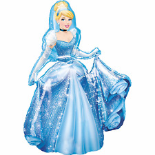 Disney Princess Cinderella Air-walker Foil Balloon Birthday Party Decoration 48""