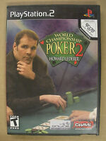 World Championship Poker 2 - Playstation 2 PS2 - Tested