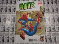 Incredible Hulk (2011) Marvel - #9, 1:25 Variant CVR, Amazing Spider-Man, NM-