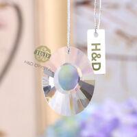 5pcs Chandelier Clear Crystal Suncatcher Lamp Prisms Hanging Drop Pendant 38mm