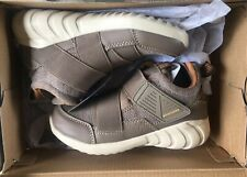 Boys' Skechers Relaxed Fit Hydrus Modern Z Strap Sneaker Taupe/Brown Size 12