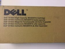 DELL 5110CN HIGH CAPACITY MAGENTA CARTRIDGE CT200842 KD557 593-10125 12000 PAGES
