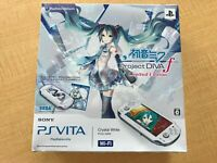 PlayStation Vita Hatsune Miku Limited Edition Wi-Fi model PCHJ-10002 Japan F/S
