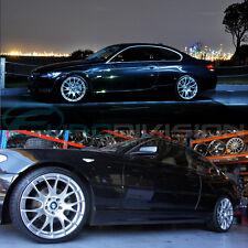 """GTC Wheels GT-CR 19"""" Hyper Silver BMW 3 E90 E91 E92 E93 320 323 325 330 335"""