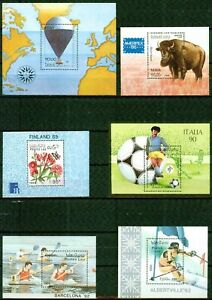 LAOS  – 1983-1991   – S/S COLLECTION  – VF  **