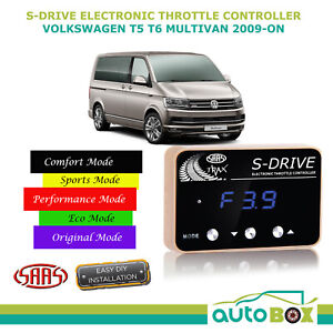 SAAS Electronic Throttle Controller for VW T5 Multivan T6 2009-Current S Drive