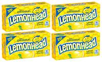 4x The Original Lemonhead Lemon Candies American Sweets