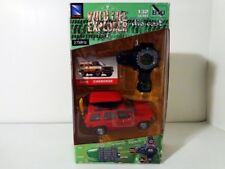 2004 New Ray Wildlife Explorer 1:32 Die Cast Radio Control RED JEEP CHEROKEE MIB