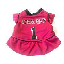 Fashion Pet Dog Dress Team Mvp Jersey Pink Sport Dress S