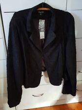 CITY CHIC Lady Lace Black Cropped Jacket Plus Size XL 20 22 BNWT rrp $99.95 B9