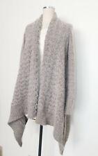 ALLSAINTS Angora Blend Sweater Oversize HiLo Waterfall Cardigan sz 6 will fit 10