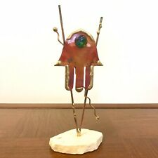 Signed Abstract Metal Sculpture