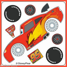 Disney Cars Stickers - Make Your Own Lightning McQueen - Birthday Party Favours