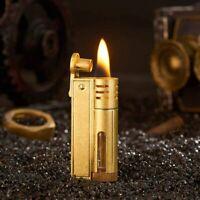 Trench Lighter Vintage Kerosene Copper Lighter Windproof Brass Lighter
