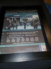 Taxiride Get Set Rare Original Radio Promo Poster Ad Framed!