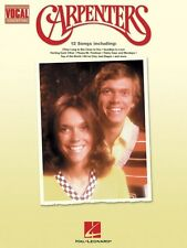 Carpenters Note-for-Note Vocal Transcriptions Vocal Collection NEW 000740177