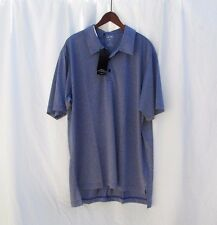 Adidas Clima Lite Indigo Blue SS Polo Top Mens L NWT New
