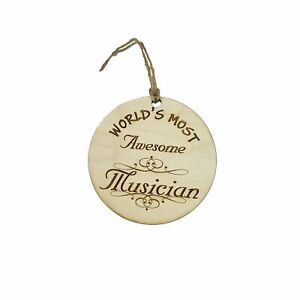 Worlds most Awesome Musician - Ornament