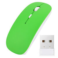 Slim 2.4 GHz Office Wireless Mouse Mice with USB Receiver Für Laptop PC Macbook