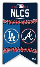 2021 MLB Nlcs L.A.DODGERS Vs.Atlanta Braves Broche National Ligue World Série